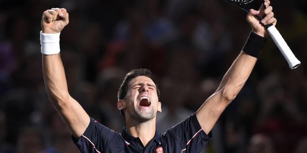 ATP Paris-Bercy: Novak Djokovic conserve son titre - La Libre