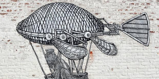 Quand le street art envahit tout un village champêtre - La Libre