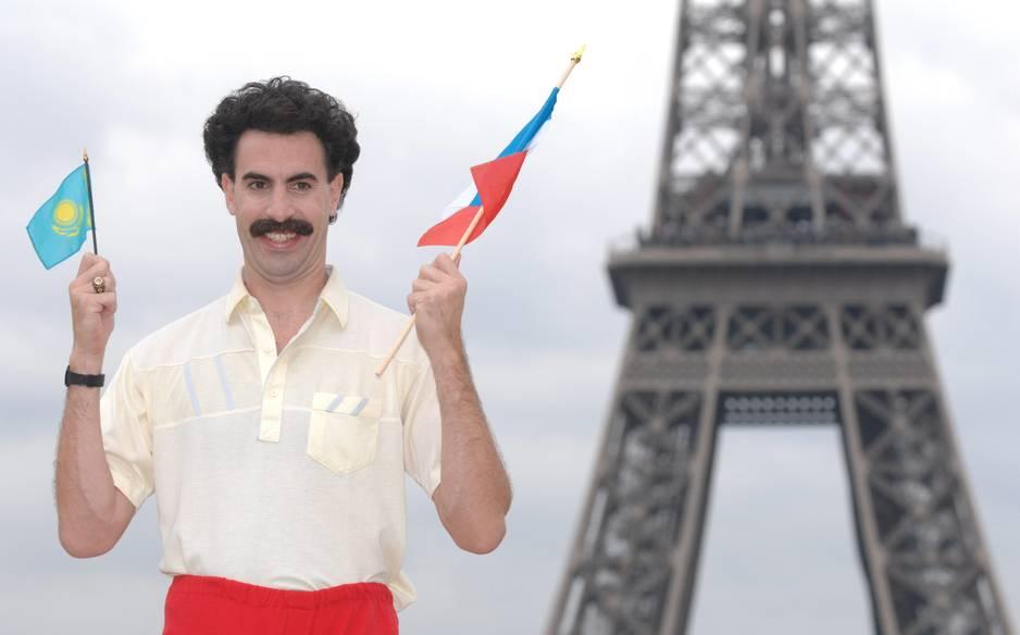 Borat, la moustache hasbeen