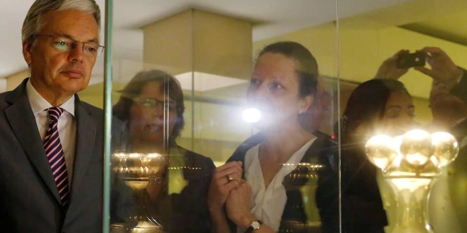 Reynders vs Sleurs: Les musées,... auront, eux aussi, l'exception culturelle! - La Libre