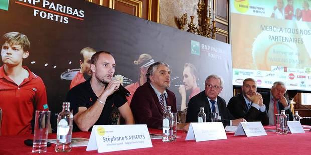 Belgian Tennis Trophy: une fête résolument belge - La Libre