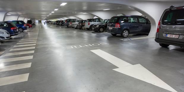 Un piétonnier au centre de Bruxelles: vers quatre parkings supplémentaires - La Libre