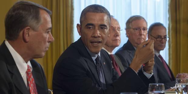 Obama reçoit les leaders du Congrès après la déroute démocrate - La Libre