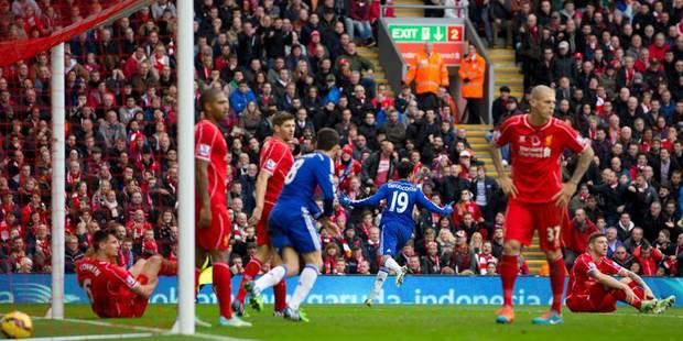 Chelsea enfonce Liverpool (1-2), l'arbitre oublie un penalty flagrant pour les Reds en fin de match - La Libre