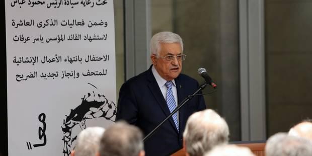 """Accusé par Abbas, le Hamas dénonce les """"mensonges"""" et """"insultes"""" du président - La Libre"""