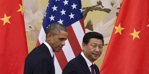 Gaz à effet de serre: Chine et USA se fixent de nouveaux objectifs - La Libre