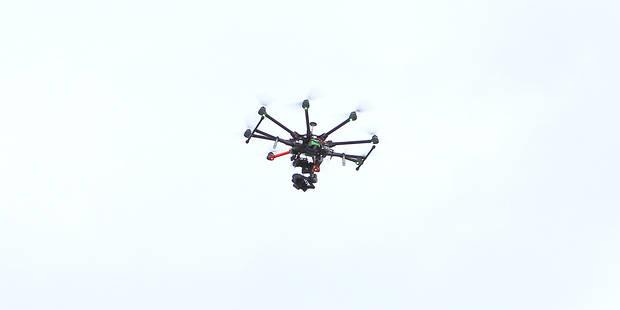 La police se méfie des drones - La Libre