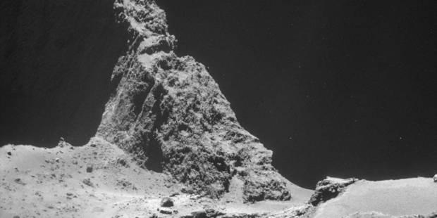 Philae a transmis les données du forage sur la comète - La Libre