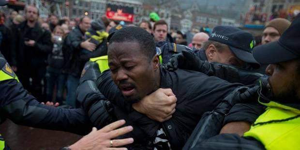 La polémique du Père Fouettard fait 90 arrestations aux Pays-Bas - La Libre