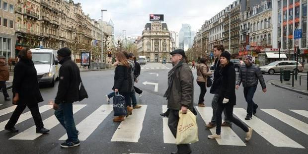 """Boulevards du centre à Bruxelles: un piétonnier """"pro-voiture""""? - La Libre"""