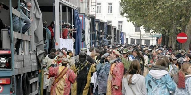 Aucun incident pour les festivités de la St-Verhaegen - La Libre