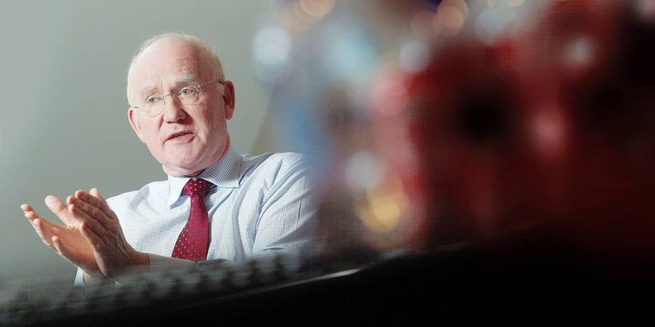 """Max Jadot, CEO de BNP Paribas Fortis: """"Je ne m'attends pas à une crise bancaire comme en 2008"""" - La Libre"""