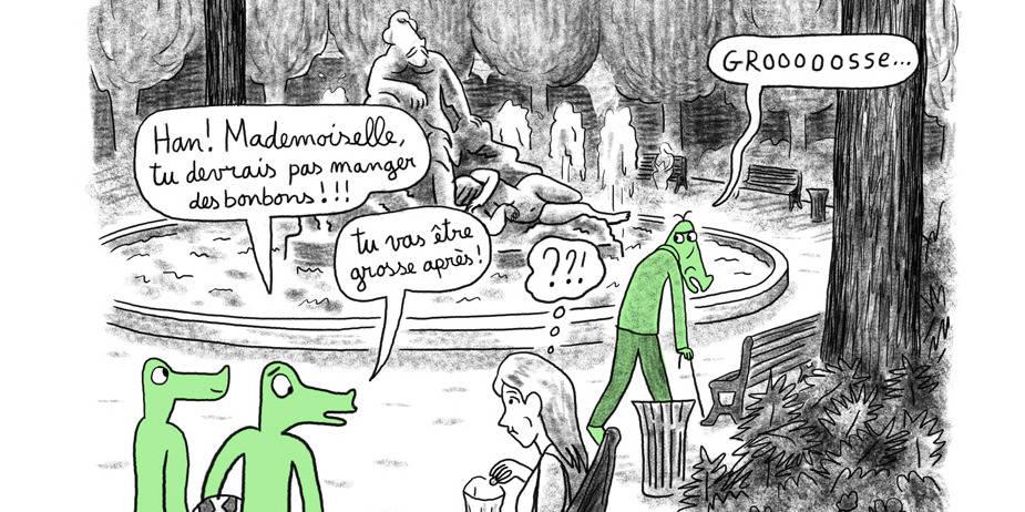 """Jugée """"vulgaire"""", l'expo d'une BD belge sur le harcèlement de rue annulée à Toulouse"""