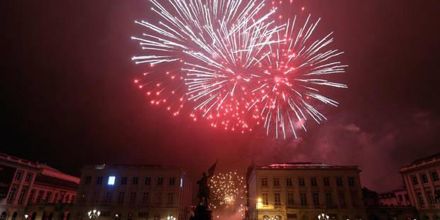Feu d'artifice de fin d'année à Bruxelles: Le subside de la Région reste en suspens - La Libre