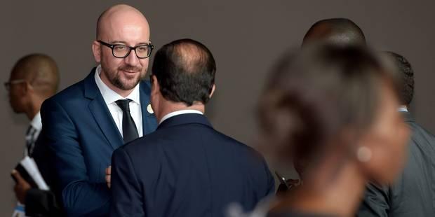 """Charles Michel au sommet de la Francophonie: """"La Belgique aide à combattre Ebola"""" - La Libre"""