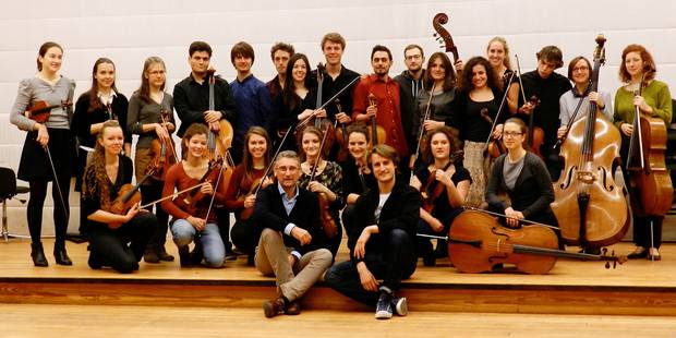 La passion des Young Belgian Strings - La Libre
