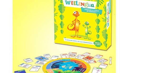 Weelingua, le jeu belge et malin qui parle aux enfants - La Libre