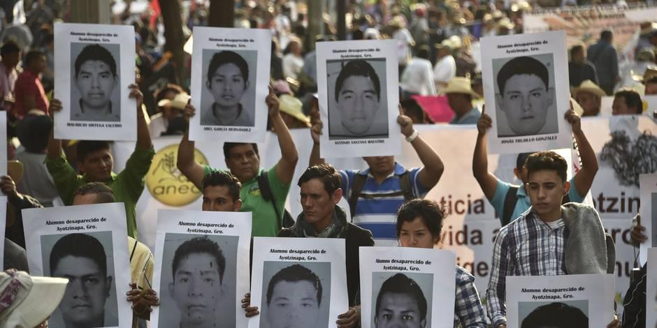 Mexique : les proches réclament l'identification des disparus