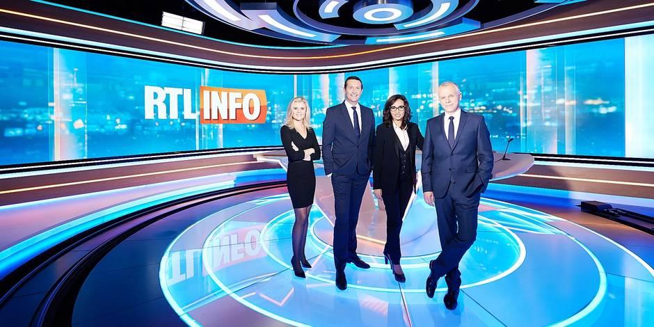 Infographies et écran géant au service de l'info chez RTL