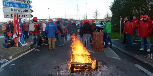 Grève nationale: dispositif reconduit à Charleroi par les syndicats - La Libre