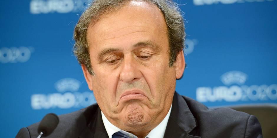 "Michel Platini: ""Je n'ai reçu ni Picasso, ni lingot"""
