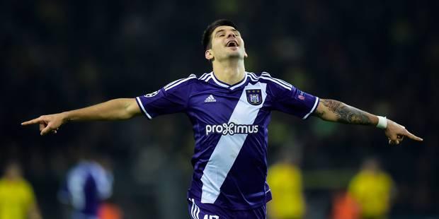 Anderlecht obtient le nul à Dortmund grâce à Mitrovic (1-1) - La Libre