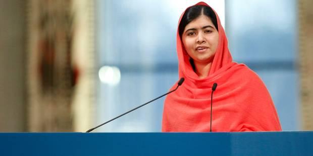 """Malala: """"Je continuerai ce combat jusqu'à ce que je voie tous les enfants à l'école"""" - La Libre"""