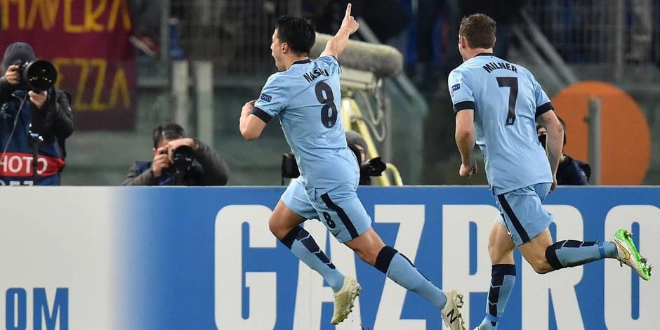 Ligue des Champions: City qualifié aux dépens de l'AS Rome