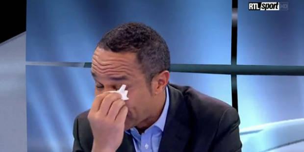 Luc Maton en larmes pour sa dernière à RTL (VIDEO) - La Libre
