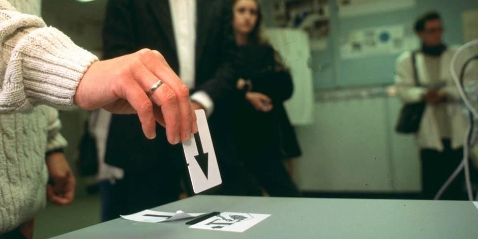 La fin du vote électronique en 2018 en Wallonie