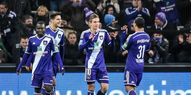 Anderlecht bat Ostende et prend la 2e place (3-0) - La Libre
