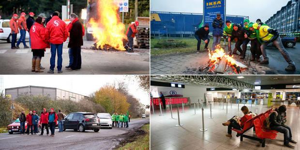 Grève nationale: circulation fluide dans le pays (photos et vidéos) - La Libre