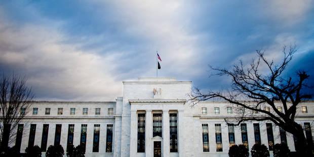 """USA: la Fed veut garder son cap monétaire pendant une """"période considérable"""" - La Libre"""