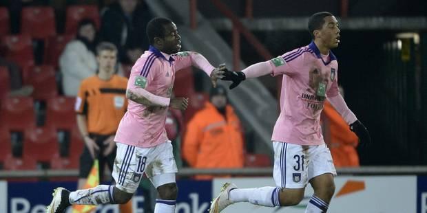 Coupe de Belgique: Anderlecht se fait peur, mais prend une option - La Libre