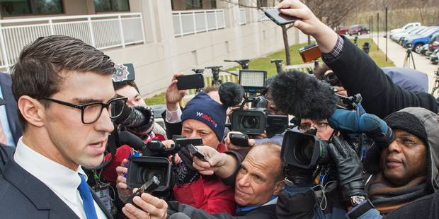 Etats-Unis: sursis et mise à l'épreuve pour Michael Phelps - La Libre