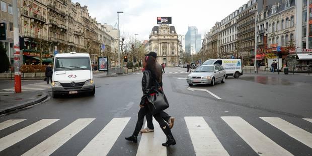 Plusieurs rues du centre-ville de Bruxelles seront fermées la soirée du 31 décembre - La Libre