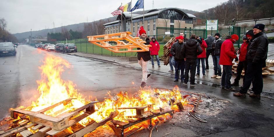 Liège: un automne social brûlant - La Libre