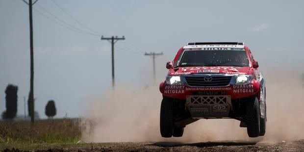 Dakar 2015 : Al-Attiyah perd sa victoire pour excès de vitesse - La Libre