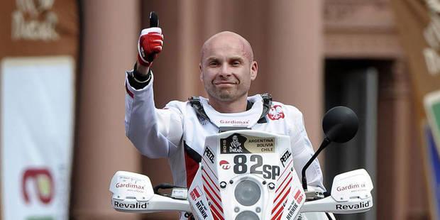 Le motard polonais Michal Hernik se tue lors du Dakar 2015 - La Libre