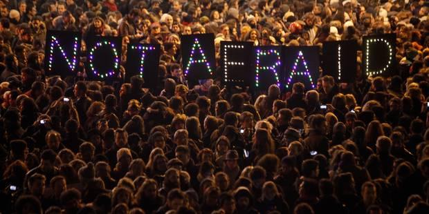 Charlie Hebdo: des rassemblements organisés en Belgique, plus de 100.000 personnes en France - La Libre