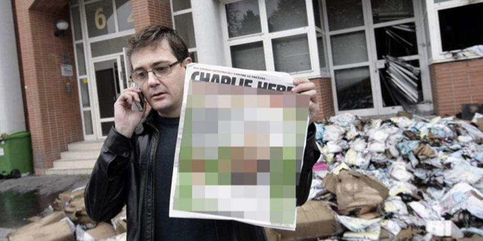 Des médias censurent les dessins de Charlie Hebdo sur l'islam