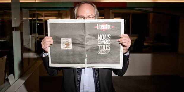"""Joffrin: """"Difficile de trouver des gens aussi bons que Cabu, Charb ou Wolinski"""" - La Libre"""