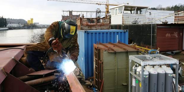 Le chantier naval de Beez, fleuron industriel wallon - La Libre
