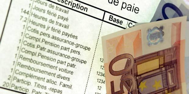 La baisse des charges salariales profite surtout aux salaires élevés - La Libre
