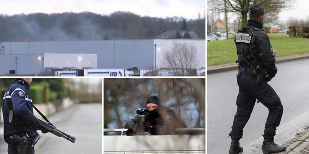 Charlie Hebdo: Les frères Kouachi tués dans l'assaut à Dammartin, l'otage est indemne - La Libre