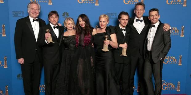 """Boyhood"", grand gagnant des Golden Globes marqués par un hommage à Paris - La Libre"