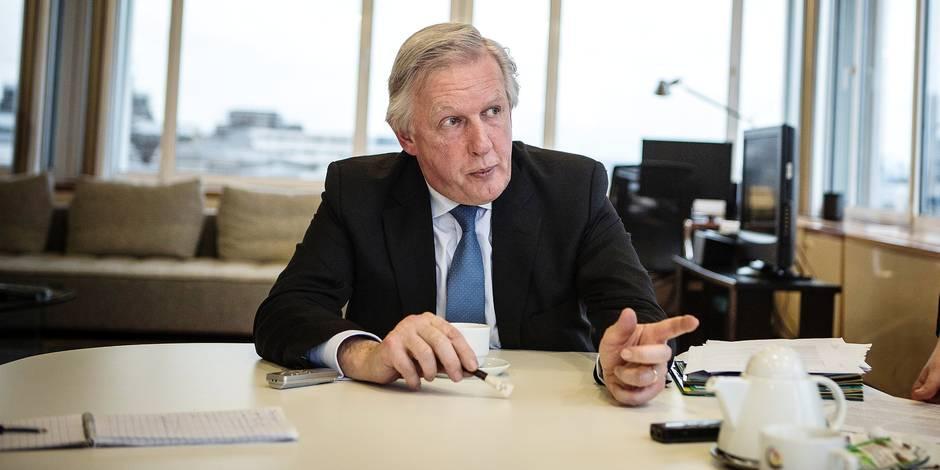 """Daniel Bacquelaine (MR) : """"Réformer les pensions, c'est l'intérêt des syndicats"""" - La Libre"""