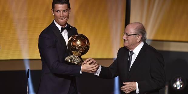 Cristiano Ronaldo remporte un troisième Ballon d'Or! - La Libre