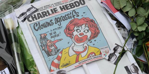"""Charlie Hebdo"" ne se laissera pas canoniser - La Libre"