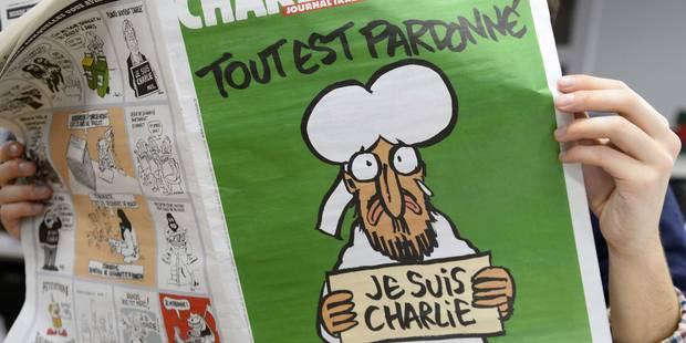 Charlie Hebdo sera disponible en 30.000 exemplaires en Belgique - La Libre